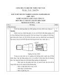 Đáp án đề thi tốt nghiệp cao đẳng nghề khóa 3 (2009-2012) - Nghề: Nguội sửa chữa máy công cụ - Môn thi: Lý thuyết chuyên môn nghề - Mã đề thi: DA SCMCC-LT03