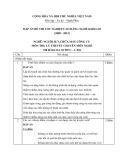 Đáp án đề thi tốt nghiệp cao đẳng nghề khóa 3 (2009-2012) - Nghề: Nguội sửa chữa máy công cụ - Môn thi: Lý thuyết chuyên môn nghề - Mã đề thi: DA SCMCC-LT26