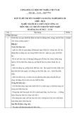 Đáp án đề thi tốt nghiệp cao đẳng nghề khóa 3 (2009-2012) - Nghề: Nguội sửa chữa máy công cụ - Môn thi: Lý thuyết chuyên môn nghề - Mã đề thi: DA SCMCC-LT41