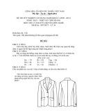 Đề thi tốt nghiệp cao đẳng nghề khóa 3 (2009-2012) - Nghề: May-Thiết kế thời trang - Môn thi: Lý thuyết chuyên môn nghề - Mã đề thi: MVTKTT–LT36