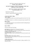 Đề thi tốt nghiệp cao đẳng nghề khóa 3 (2009-2012) - Nghề: Quản trị cơ sở dữ liệu - Môn thi: Lý thuyết chuyên môn nghề - Mã đề thi: QTCSDL-LT12 (kèm đáp án)
