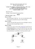 Đề thi tốt nghiệp cao đẳng nghề khóa 3 (2009-2012) - Nghề: Quản trị mạng máy tính - Môn thi: Lý thuyết chuyên môn nghề - Mã đề thi: QTMMT-LT03 (kèm đáp án)
