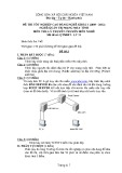 Đề thi tốt nghiệp cao đẳng nghề khóa 3 (2009-2012) - Nghề: Quản trị mạng máy tính - Môn thi: Lý thuyết chuyên môn nghề - Mã đề thi: QTMMT-LT11 (kèm đáp án)