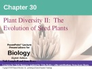 Lecture Biology: Chapter 30 - Niel Campbell, Jane Reece