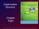 Lecture Management: Leading and collaborating in a competitive world - Chapter 8: Organization structure