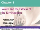 Lecture Biology: Chapter 3 - Niel Campbell, Jane Reece