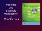 Lecture Management: Leading and collaborating in a competitive world - Chapter 4: Planning and strategic management