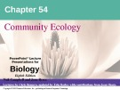 Lecture Biology: Chapter 54 - Niel Campbell, Jane Reece