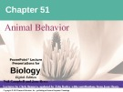 Lecture Biology: Chapter 51 - Niel Campbell, Jane Reece