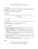 Đề Xác suất thống kê liên thông đại học 10 (năm học 2013)