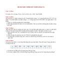 Đề thi Xác suất thống kê (khóa 12, năm 2010)
