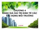 Bài giảng Kinh tế môi trường: Chương 4 - Nguyễn Thị Thanh Huyền