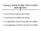 Bài giảng Kinh tế môi trường: Chương 2 - Nguyễn Thị Thanh Huyền