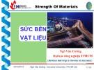 Bài giảng Sức bền vật liệu: Chương 8 - ThS. Ngô Văn Cường