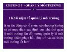 Bài giảng Kinh tế môi trường: Chương 5 - Nguyễn Thị Thanh Huyền