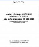 Sàn sườn toàn khối có bản dầm theo TCXDVN 356:2005 - Bê tông cốt thép 1: Phần 1