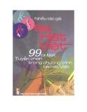 Ebook 99 ca khúc tuyển chọn trong chương trình Bài hát Việt 2005