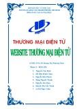 Báo cáo: Website thương mại điện tử