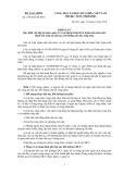Thông tư số: 139/2010/TT-BTC Bộ Tài chính