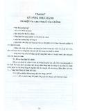 Bài giảng Chương 2: Kỹ năng thực hành nghiệp vụ cho thuê tài chính