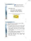 Bài giảng Hệ thống thông tin kế toán: Chương 6B - ThS. Vũ Quốc Thông