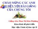 Bài giảng Kinh tế phát triển: Tăng trưởng và phát triển kinh tế - Phan Thị Kim Phương