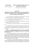 Thông tư số: 02/2013/TT-BXD