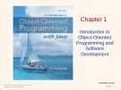 Lecture An introduction to object-oriented programming with Java: Chapter 1 - C. Thomas Wu