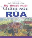 kỹ thuật nuôi và chăm sóc rùa: phần 2