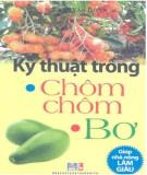 Ebook Kỹ thuật trồng chôm chôm, bơ: Phần 1