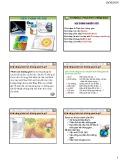 Bài giảng Viễn thám và GIS - Chương 4: Phân tích không gian