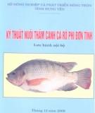 kỹ thuật nuôi thâm canh cá rô phi đơn tính