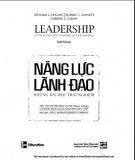 Ebook Năng lực lãnh đạo: Những bài học trải nghiệm - Phần 2