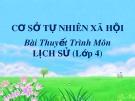 Bài thuyết trình: Nước Đại Việt thời Trần từ năm 1226 đến năm 1400