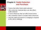 Lecture Consumer behaviour: Chapter 6 - Cathy Neal, Pascale Quester, Del Hawkins