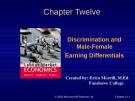 Lecture Labour market economics: Chapter 12 - Dwayne Benjamin, Morley Gunderson, Craig Riddell