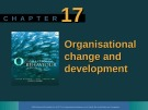 Lecture Organisational behaviour on the Pacific rim: Chapter 17 - Steve McShane, Tony Travaglione