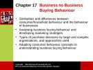 Lecture Consumer behaviour: Chapter 17 - Cathy Neal, Pascale Quester, Del Hawkins