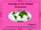 Lecture Macroeconomics - Chapter 5: Canada in the global economy