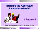 Lecture Macroeconomics - Chapter 8: Building the aggregate expenditure model