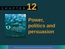 Lecture Organisational behaviour on the Pacific rim: Chapter 12 - Steve McShane, Tony Travaglione