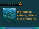 Lecture Organisational behaviour on the Pacific rim: Chapter 4 - Steve McShane, Tony Travaglione