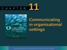 Lecture Organisational behaviour on the Pacific rim: Chapter 11 - Steve McShane, Tony Travaglione