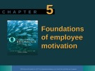 Lecture Organisational behaviour on the Pacific rim: Chapter 5 - Steve McShane, Tony Travaglione