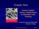 Lecture Labour market economics: Chapter 9 - Dwayne Benjamin, Morley Gunderson, Craig Riddell