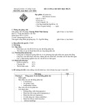 Đề cương chi tiết học phần: Hệ phân tán
