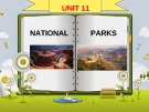 Lecture Unit 11: National - Parks