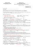 Đề khảo sát môn Hóa học 10 - Trường THPT chuyên Hùng Vương (Mã đề thi 132)