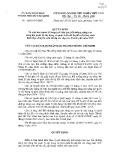 Quyết định số: 1258/QĐ-UBND TP. Hồ Chí Minh