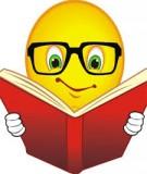 Hướng dẫn một số nội dung ôn tập học phần: Hóa học môi trường